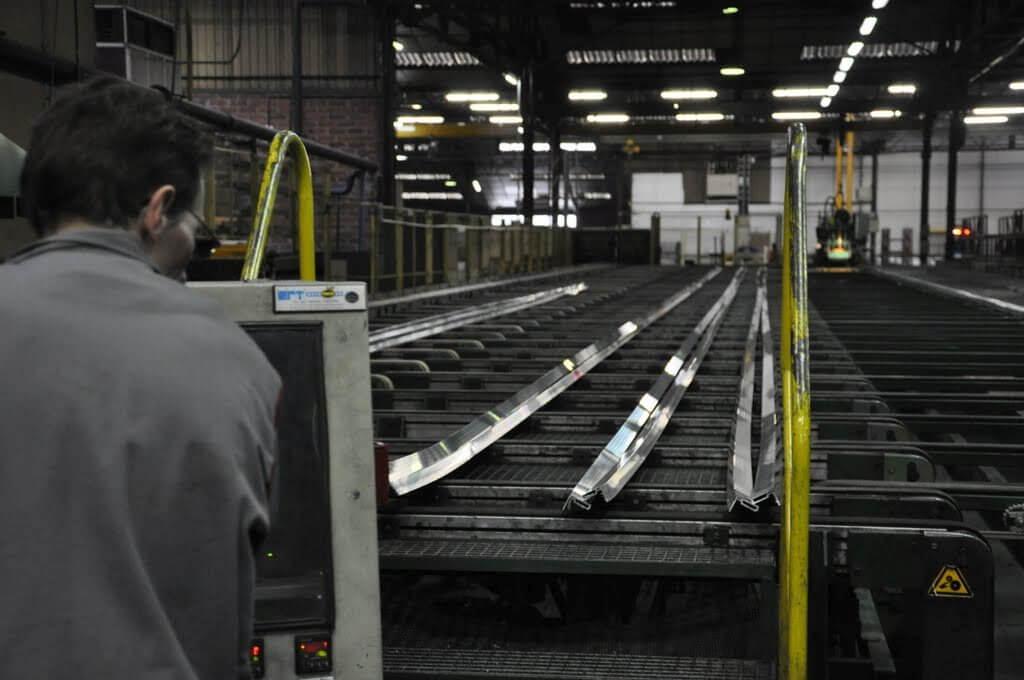 Productie van aluminium voor veranda bouw