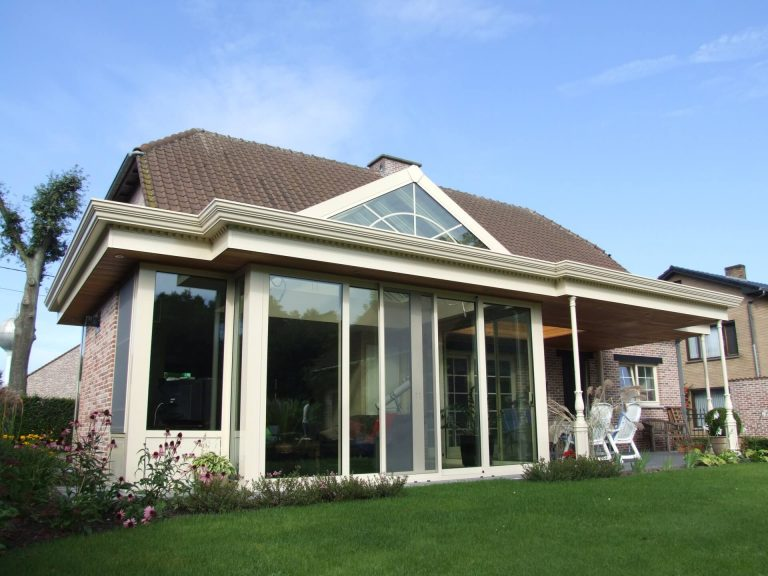 Veranda in combinatie met Pergola