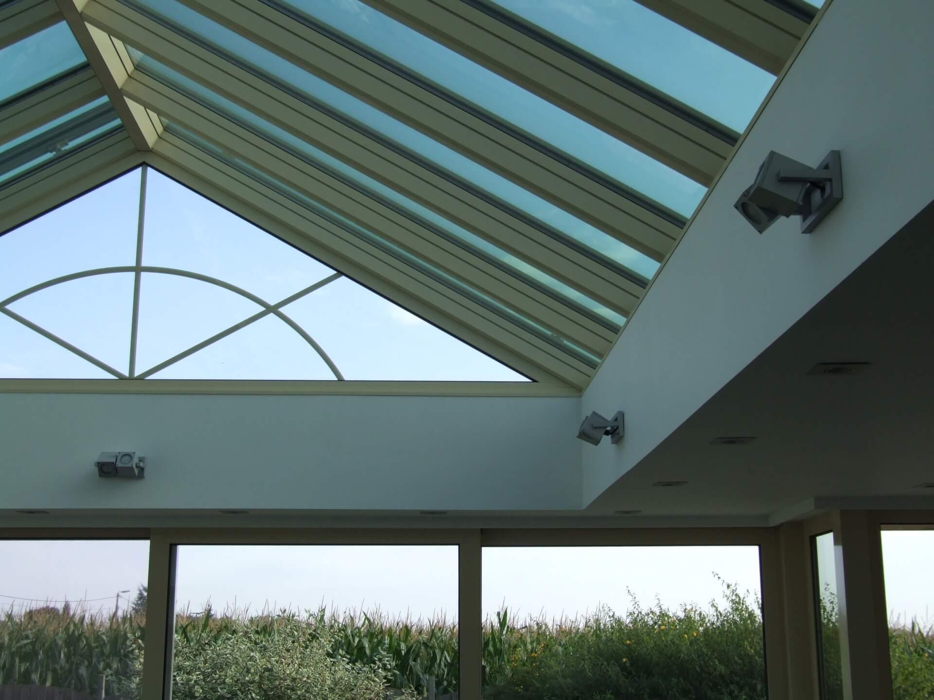 plafond veranda affordable renovation et isolation dun plafond dans une veranda rouen plafond. Black Bedroom Furniture Sets. Home Design Ideas
