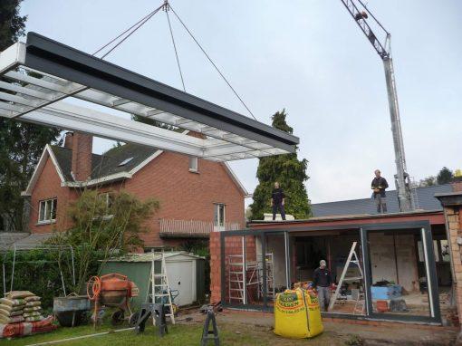 Uitvoering van ruwbouwwerken bij veranda verbouwingen